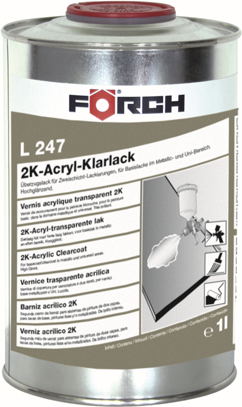 2K-Acrylic Clear Lacquer L247